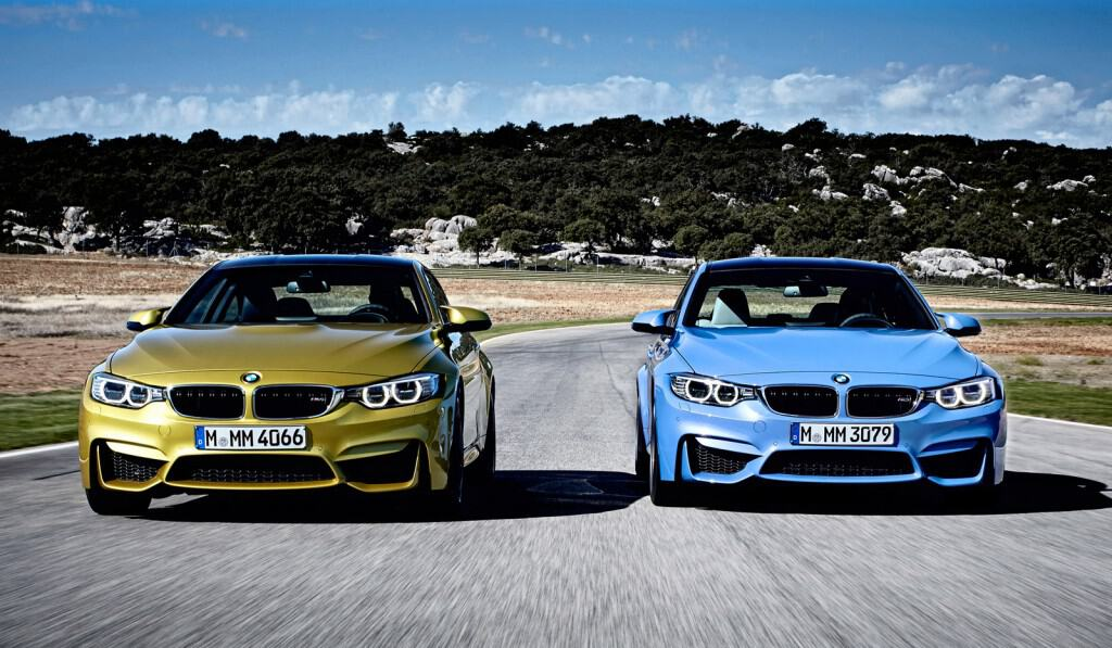 Check it out: BMW M5 vs BMW M4