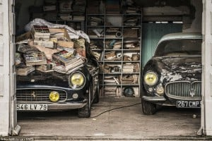 60 Classic cars discovered in a deserted barn in France