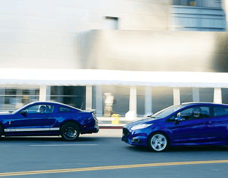 Ford Mustang EcoBoost vs Fiesta ST