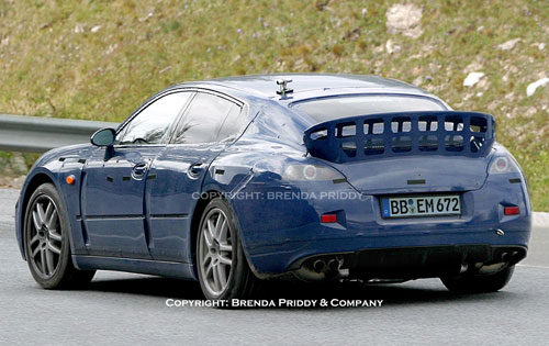 SPY – 2009 Porsche Panamera caught testing