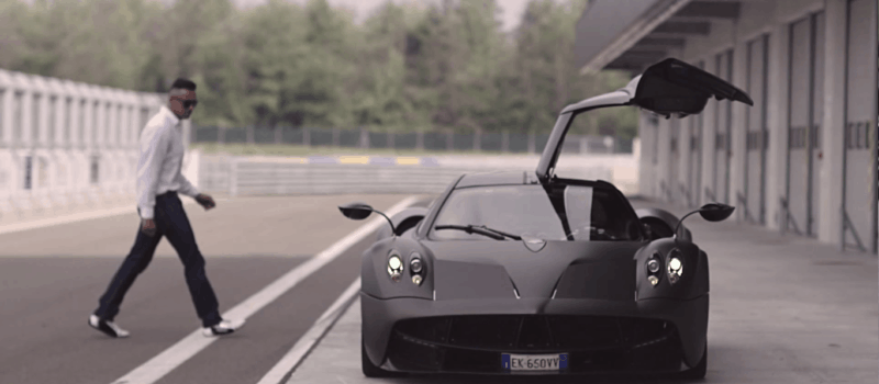This is what it's like to be Pagani's test driver