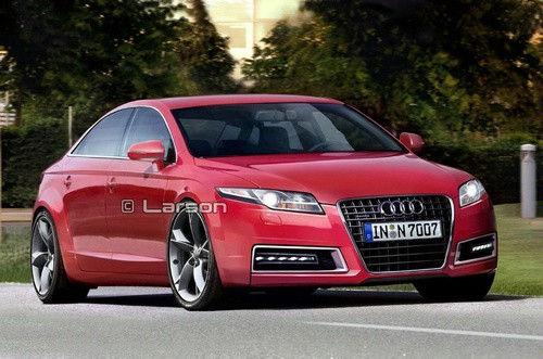 New Audi A7, details