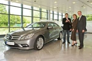 The First Mercedes E-Class Coupe