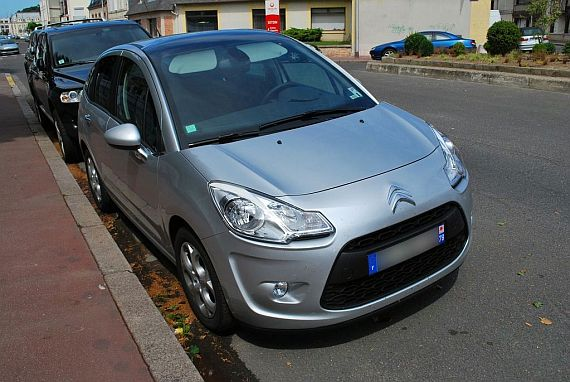 New Citroen C3 in France