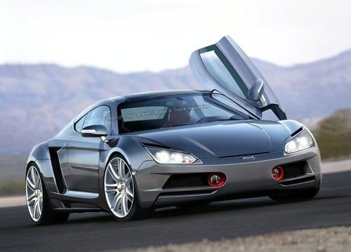 new mclaren slr The new McLaren