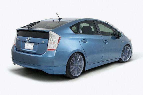 toyota prius aerius back Toyota Prius Aerius & Aemulus Announced for SEMA 2009