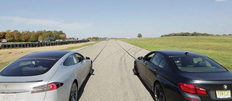 Tesla Model S vs BMW M5
