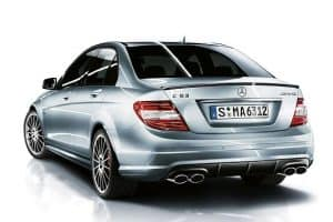 Mercedes Benz C63 AMG gets the Performance Package Plus Treatment