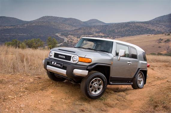 The Toyota FJ Cruiser