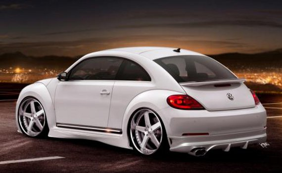 VW Beetle R to Boast Golf R Power