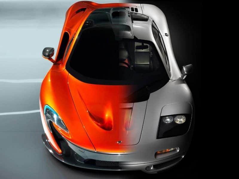 The Beasts, McLaren F1 vs McLaren P1 – Compare Car Reviews