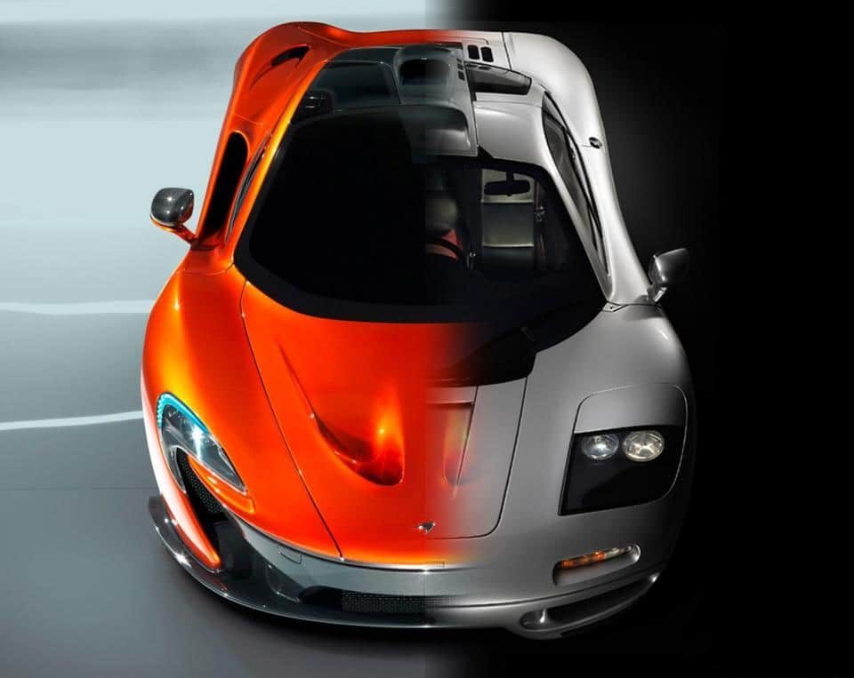 The Beasts, McLaren F1 vs McLaren P1 – Compare Car Reviews