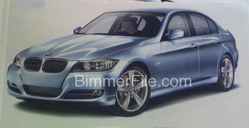 2009 bmw 3 facelift 2009 BMW 3 Series Facelift