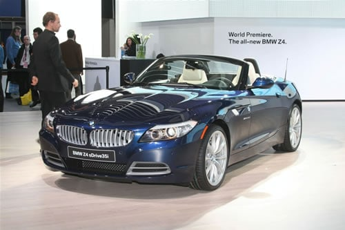 2010 bmw z4 2010 BMW Z4, Live in Detroit and on Video
