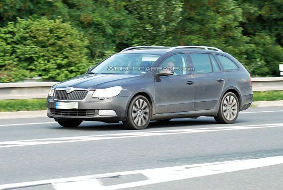 2010 Skoda Superb Kombi