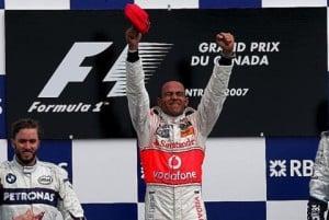 5 Lewis Hamilton wins the Montreal Grandprix