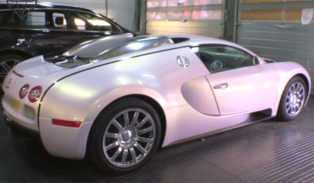 Pearl Pink Bugatti