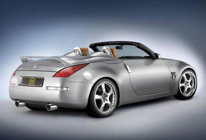article 11060 img 1 Nissan 350Z Cobra kitted