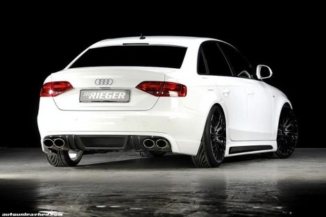 Audi A4 Tuning Rieger back