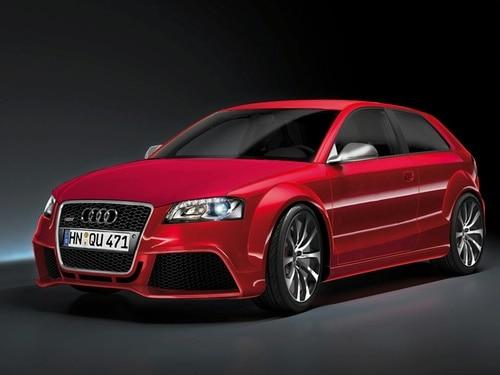 Audi RS3 rendering