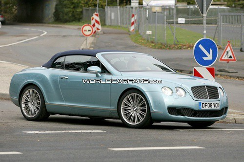 bentley continental gtc speed spied 1 Bentley Continental GTC Speed Edition