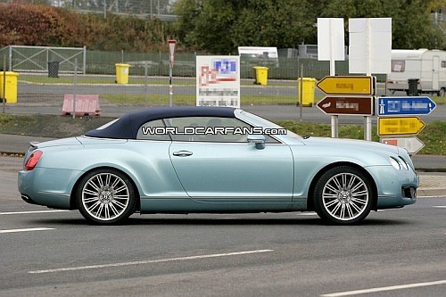 bentley continental gtc speed spied 2 Bentley Continental GTC Speed Edition