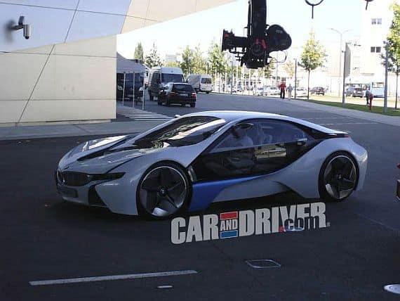 bmw vision efficienctdynamics concept BMW Vision EfficientDynamics Concept spotted at BMW Welt In Munich
