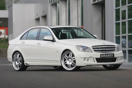 brabus tuned mercedes benz 2 Car of the week Brabus Mercedes Benz C220