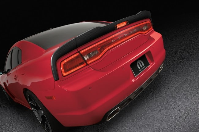 dodge charger redline1 Mopar to showcase two extra vehicles