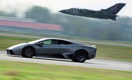 lamborghini reventon vs tornado fighter jet Deathmatch: Lamborghini Reventon vs Panavia