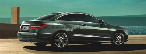 mercedes benz e class coupe leaked images Mercedes E Class Coupe Official Images Leaked