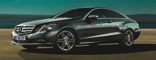 mercedes benz e class coupe leaked images 1 Mercedes E Class Coupe Official Images Leaked