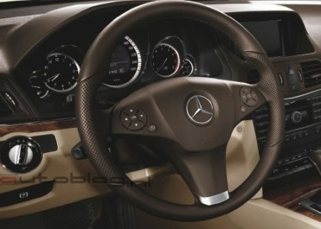 mercedes benz e class coupe leaked images 3 Mercedes E Class Coupe Official Images Leaked