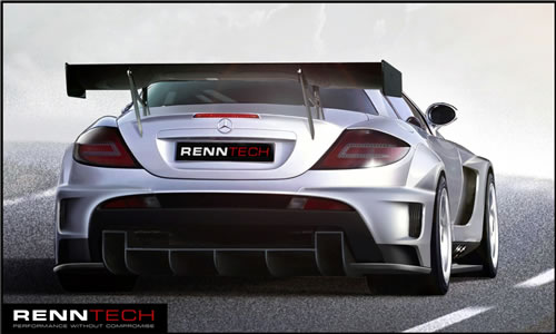 RENNTECH 777, Based on a SLR McLaren