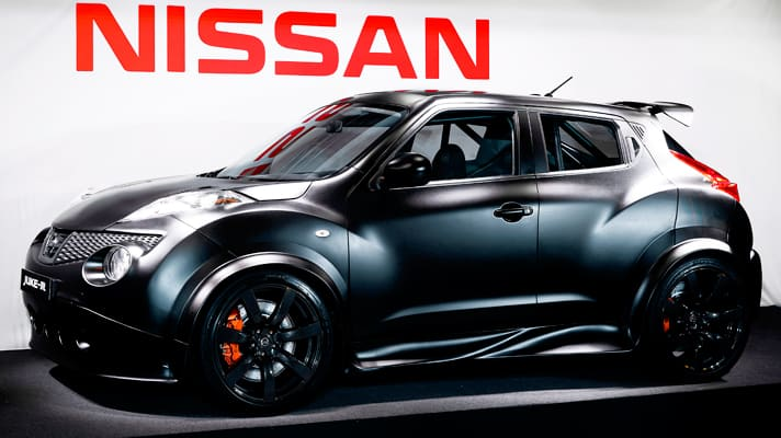 nissanjuker Nissan Juke Rs First Prototype Pic
