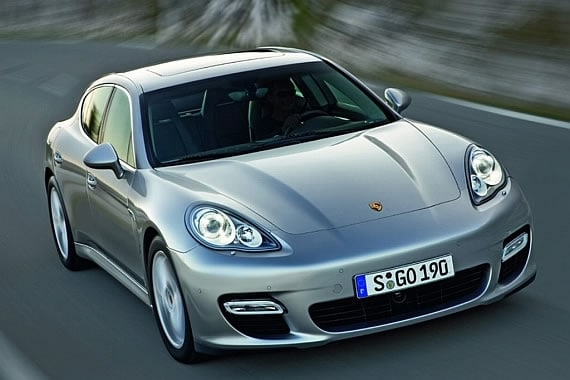 Porsche Panamera Officially Revealed