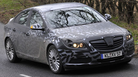 2009 Opel Insignia camouflagged