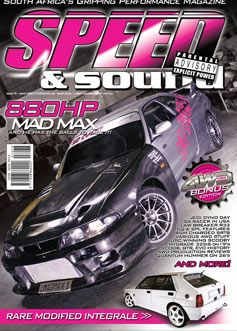 Speed and Sound new issue