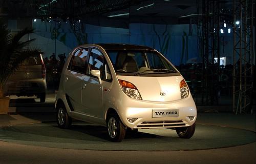 Tata Nano (RS 1-lakh) by Tata Motors
