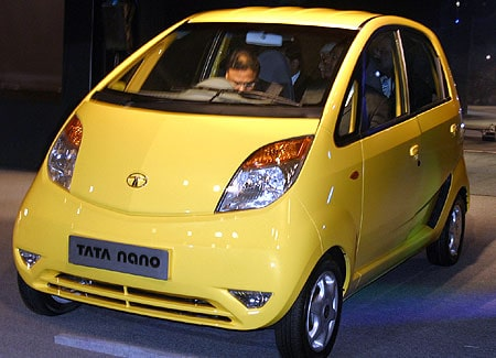 Tata Nano by Tata Motors