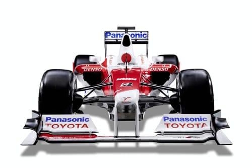 Toyota's 2009 Formula 1 Car Reveald Online