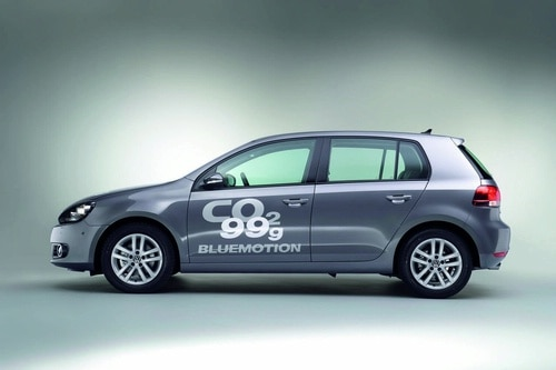 VW Golf VI BlueMotion Revealed