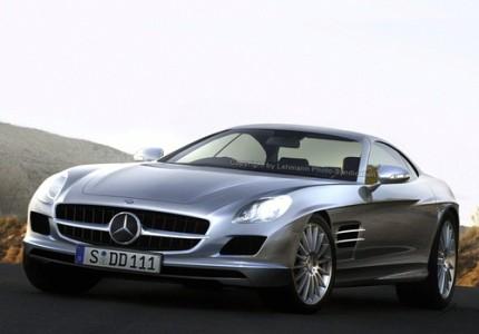 Mercedes AMG W 197 SLC – Prototype