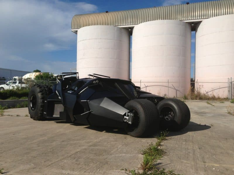 Want to own a Batmobile? This one is for sale