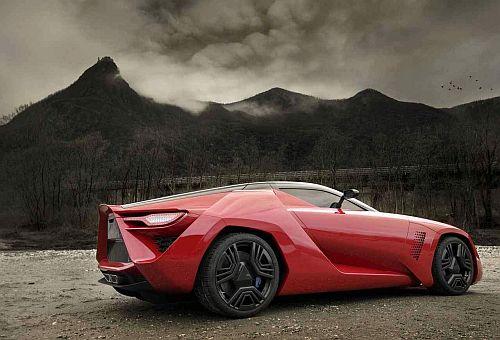Corvette Powered Bertone Mantide