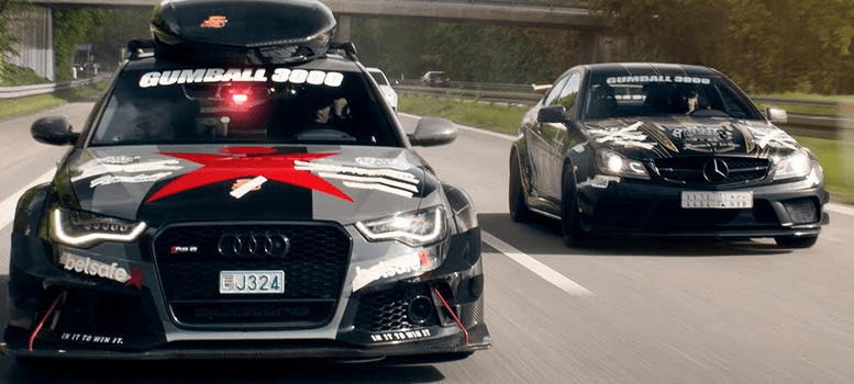 Video: Gumball 3000 – First video of the run!