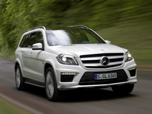 Review: The New Mercedes Benz GL 63 AMG